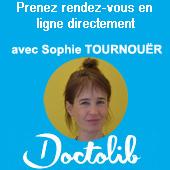 Prendre rdv avec Sophe TOURNOUËR en Hypnose et Thérapies Brèves à Paris